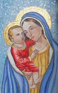 Carmagnola - Madonna con bambino